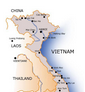 VietNam medicosocial map for 19 province